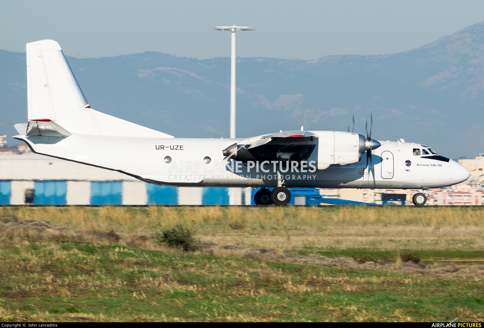 Constanta Airlines UR-UZE aircraft at Athens - Eleftherios Venizelos