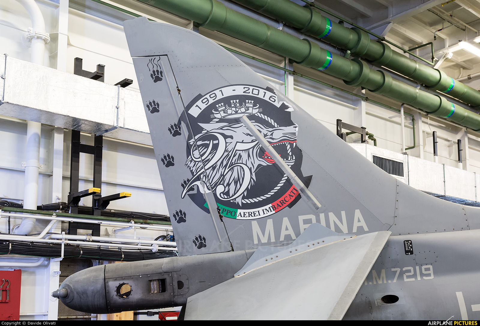 Italy - Navy MM7219 aircraft at Nave Cavour
