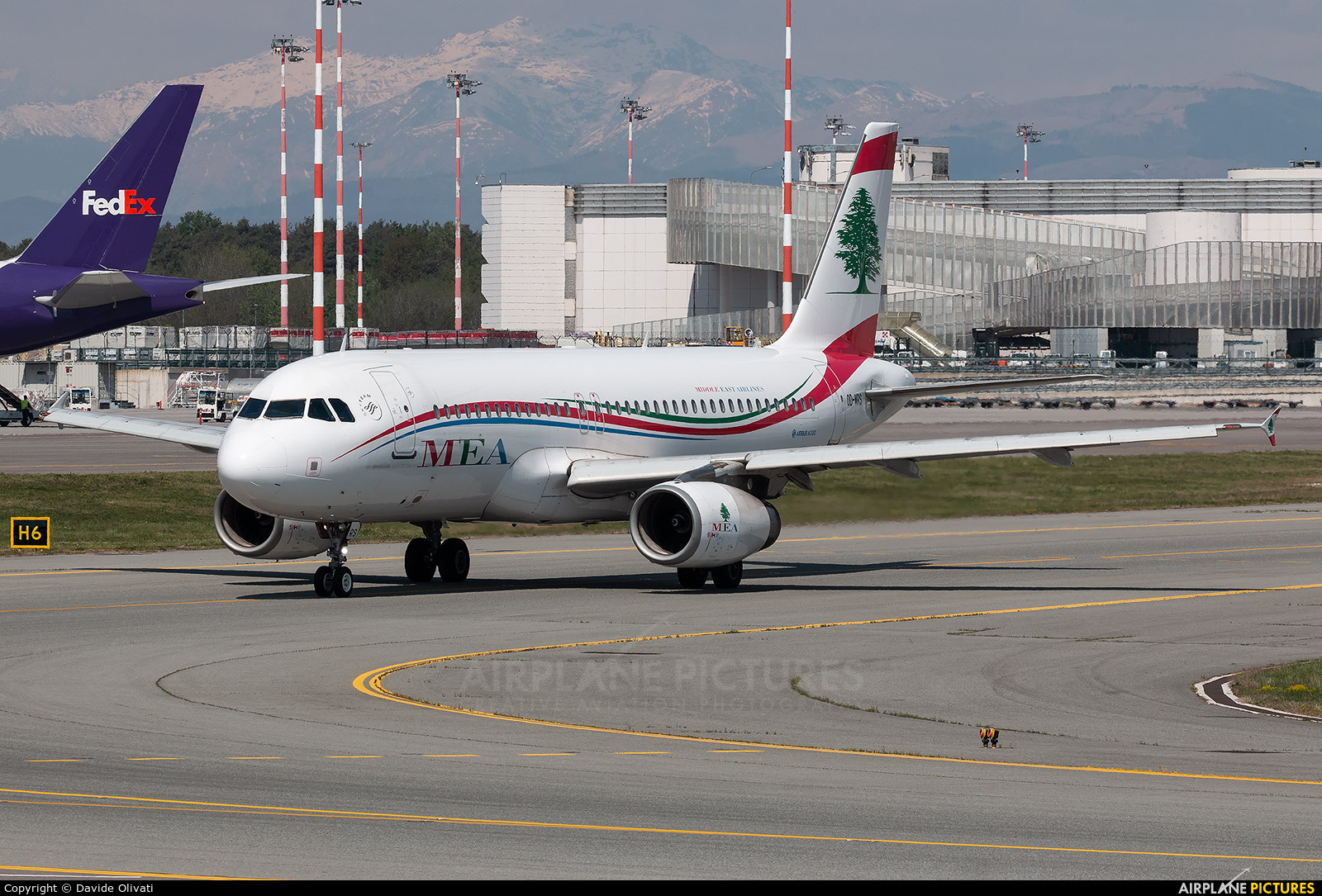 MEA - Middle East Airlines OD-MRS aircraft at Milan - Malpensa