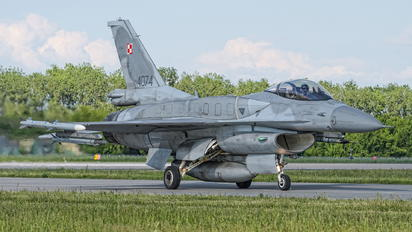 4074 - Poland - Air Force Lockheed Martin F-16C block 52+ Jastrząb