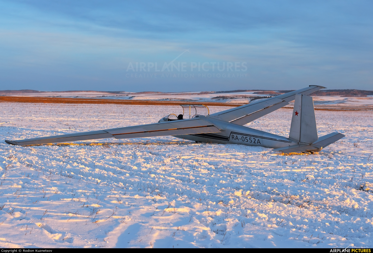 Private RA-0552A aircraft at Off Airport - Russia