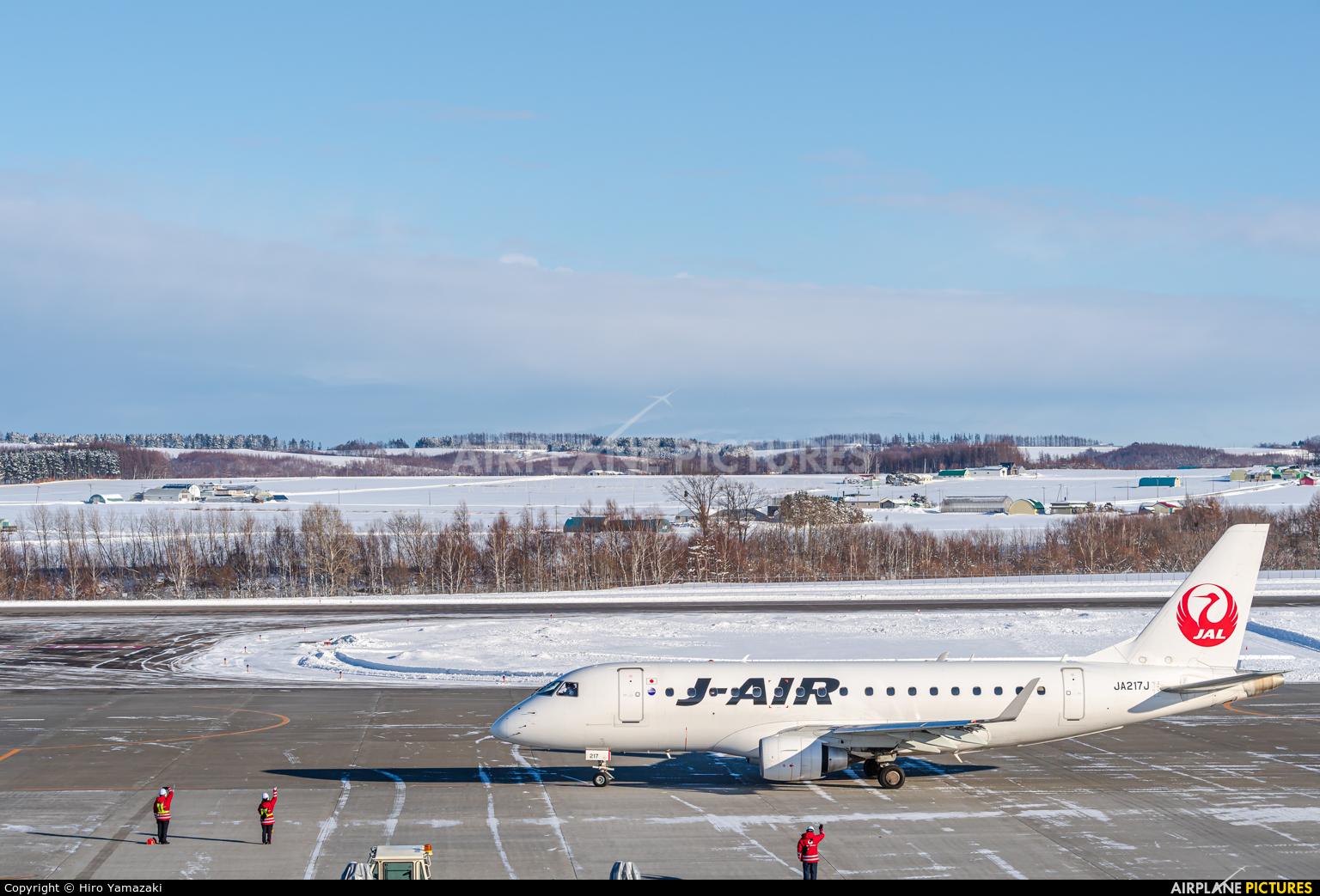 J-Air JA217J aircraft at Memanbetsu