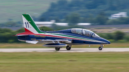 "11 - Italy - Air Force ""Frecce Tricolori"" Aermacchi MB-339-A/PAN"