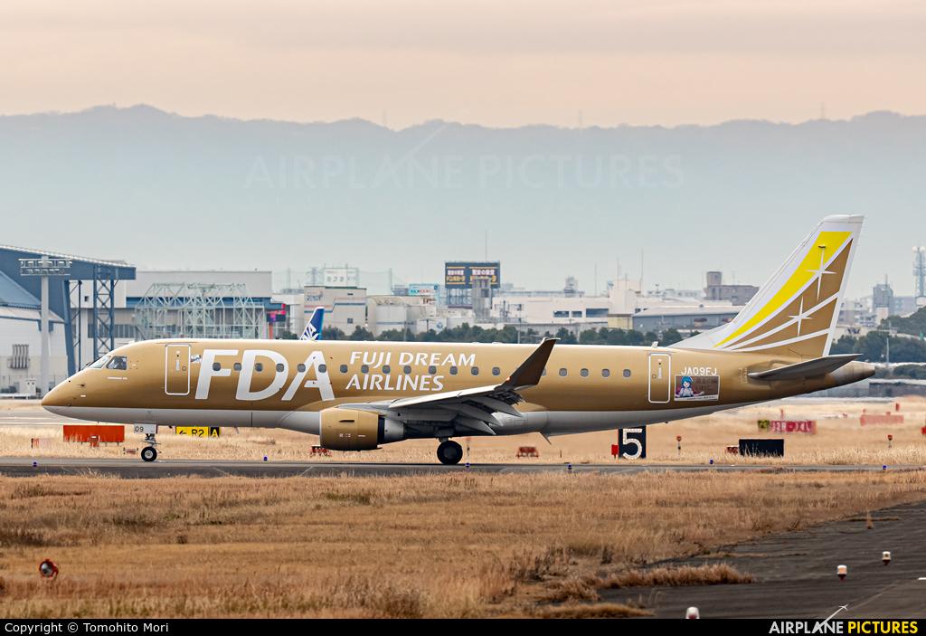 Fuji Dream Airlines JA09FJ aircraft at Osaka - Itami Intl