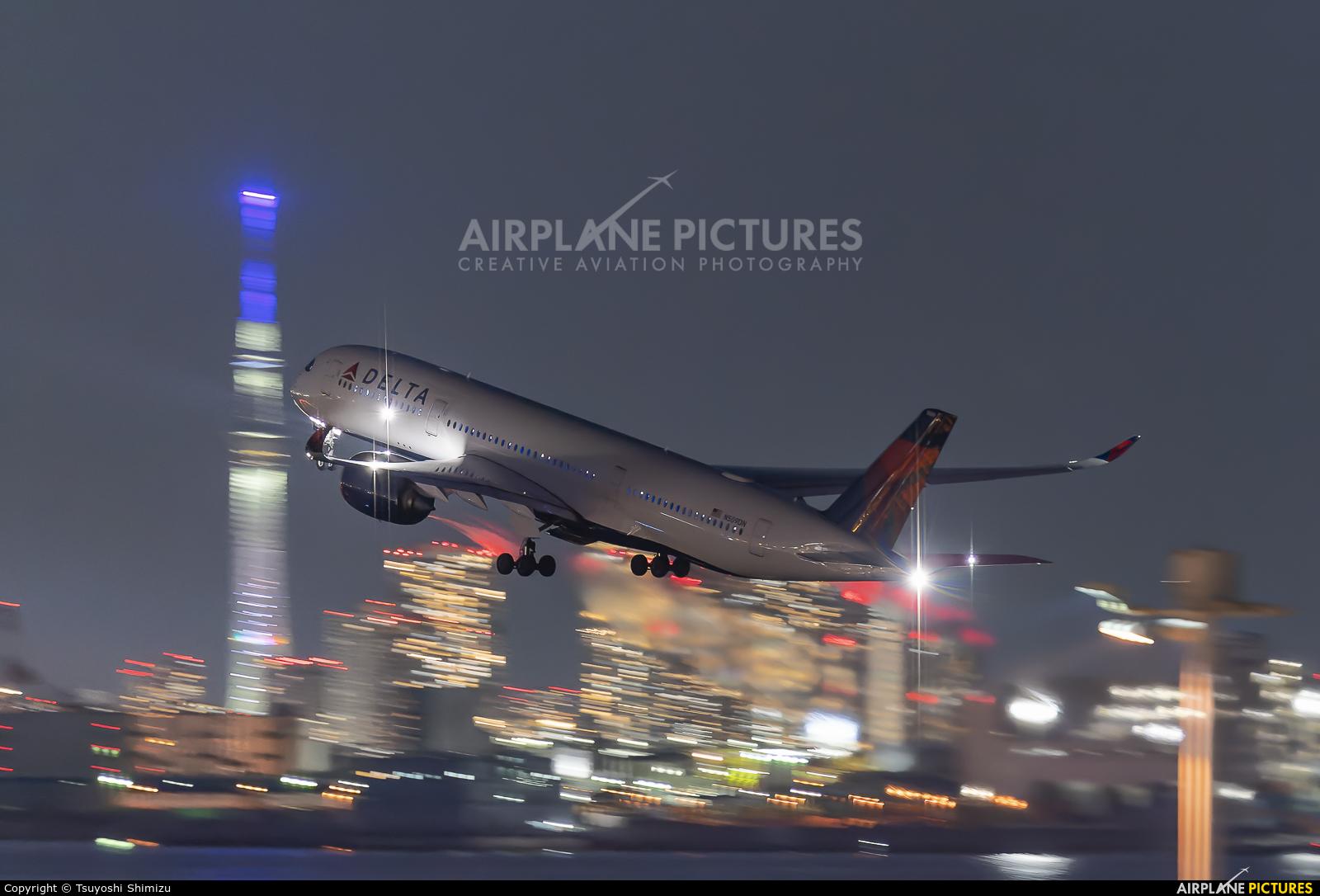 Delta Air Lines N509DN aircraft at Tokyo - Haneda Intl