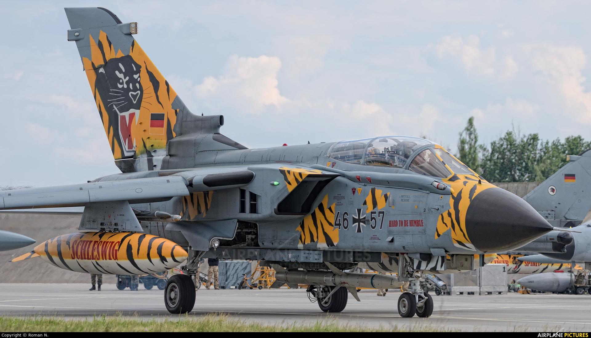 Germany - Air Force 46+57 aircraft at Poznań - Krzesiny