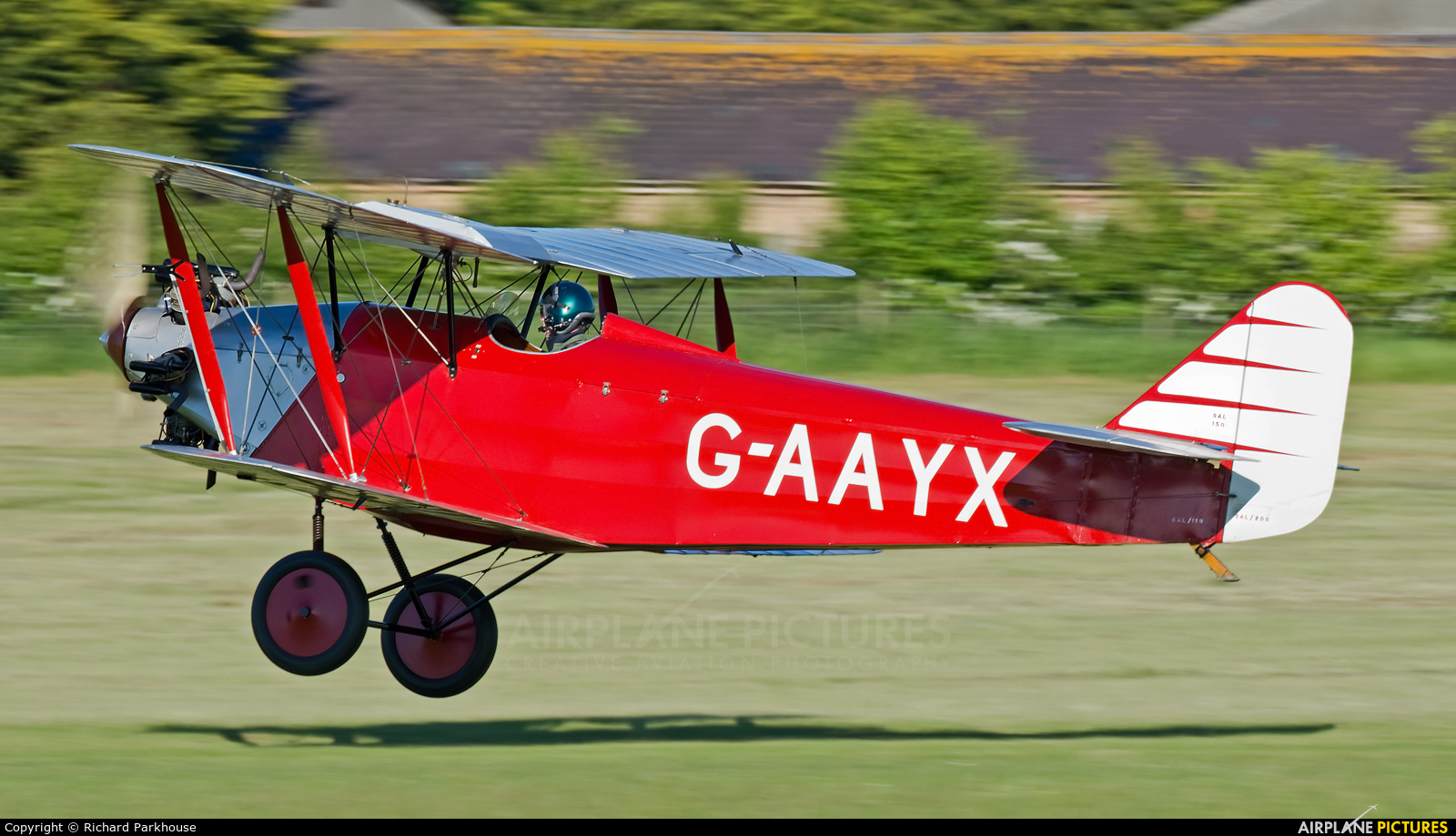 The Shuttleworth Collection G-AAYX aircraft at Old Warden