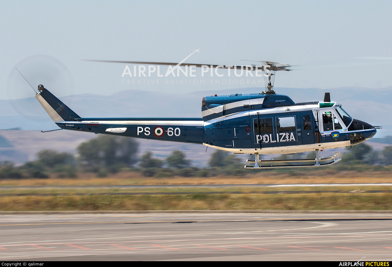Italy - Police MM81642 aircraft at Sigonella