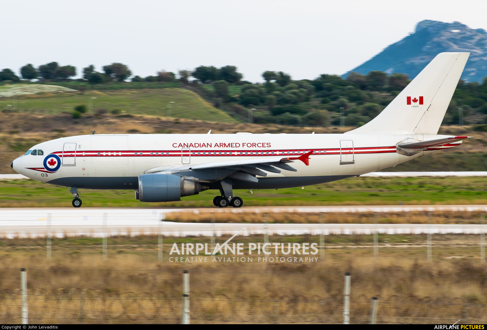 Canada - Air Force 15003 aircraft at Athens - Eleftherios Venizelos