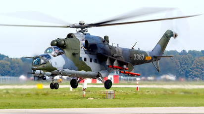 3367 - Czech - Air Force Mil Mi-24V