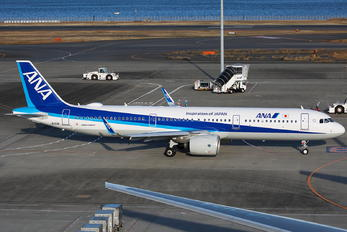 JA150A - ANA - All Nippon Airways Airbus A321 NEO