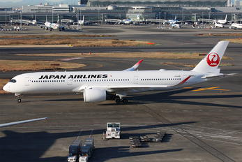 JA06XJ - JAL - Japan Airlines Airbus A350-900