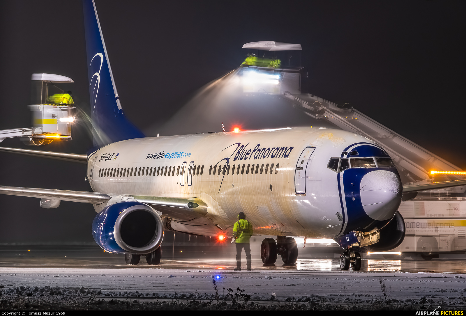 Blue Panorama Airlines 9H-GAX aircraft at Katowice - Pyrzowice