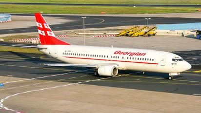 4L-TGT - Georgian Airways Boeing 737-400