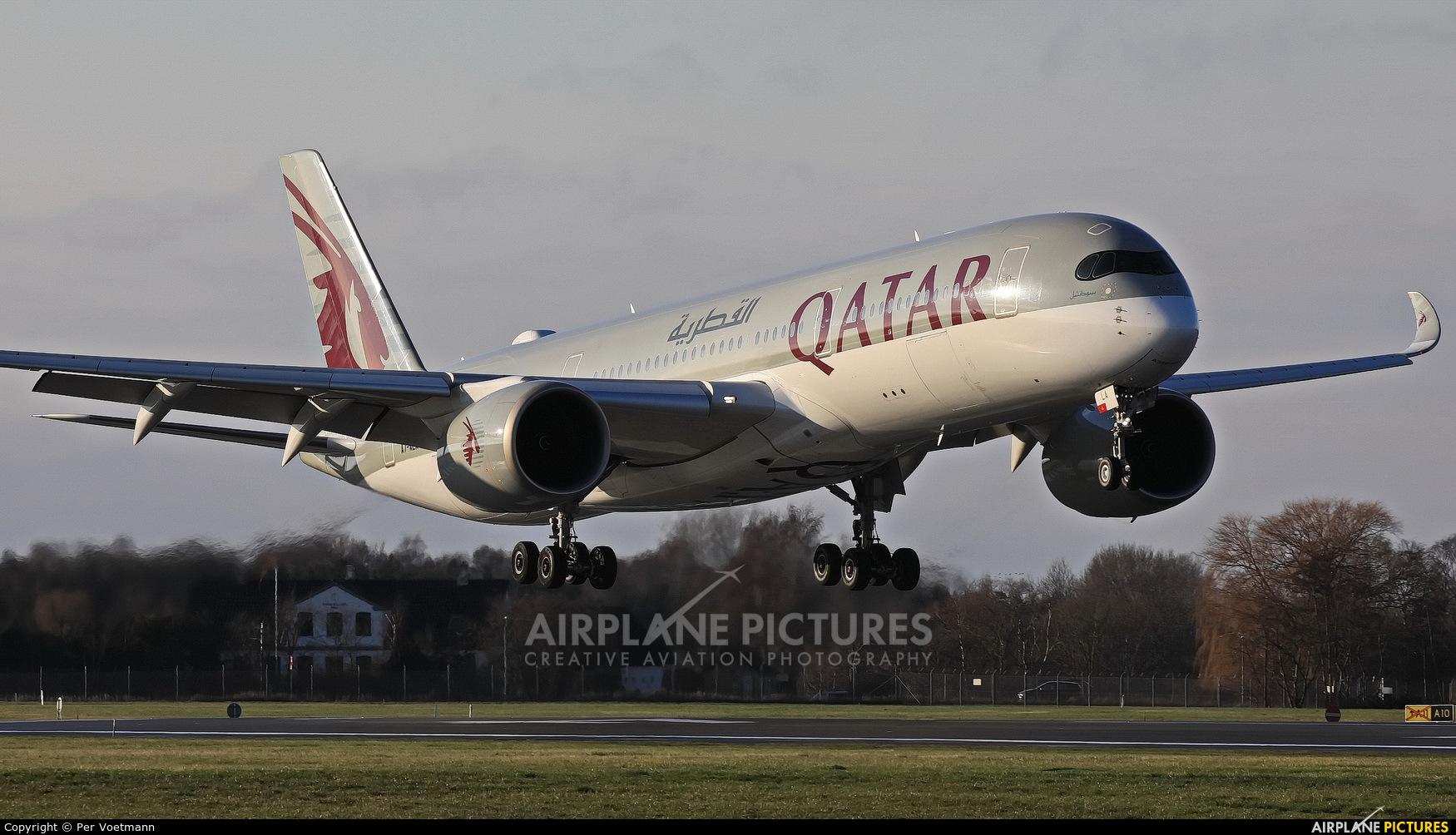 Qatar Airways A7-ALA aircraft at Copenhagen Kastrup