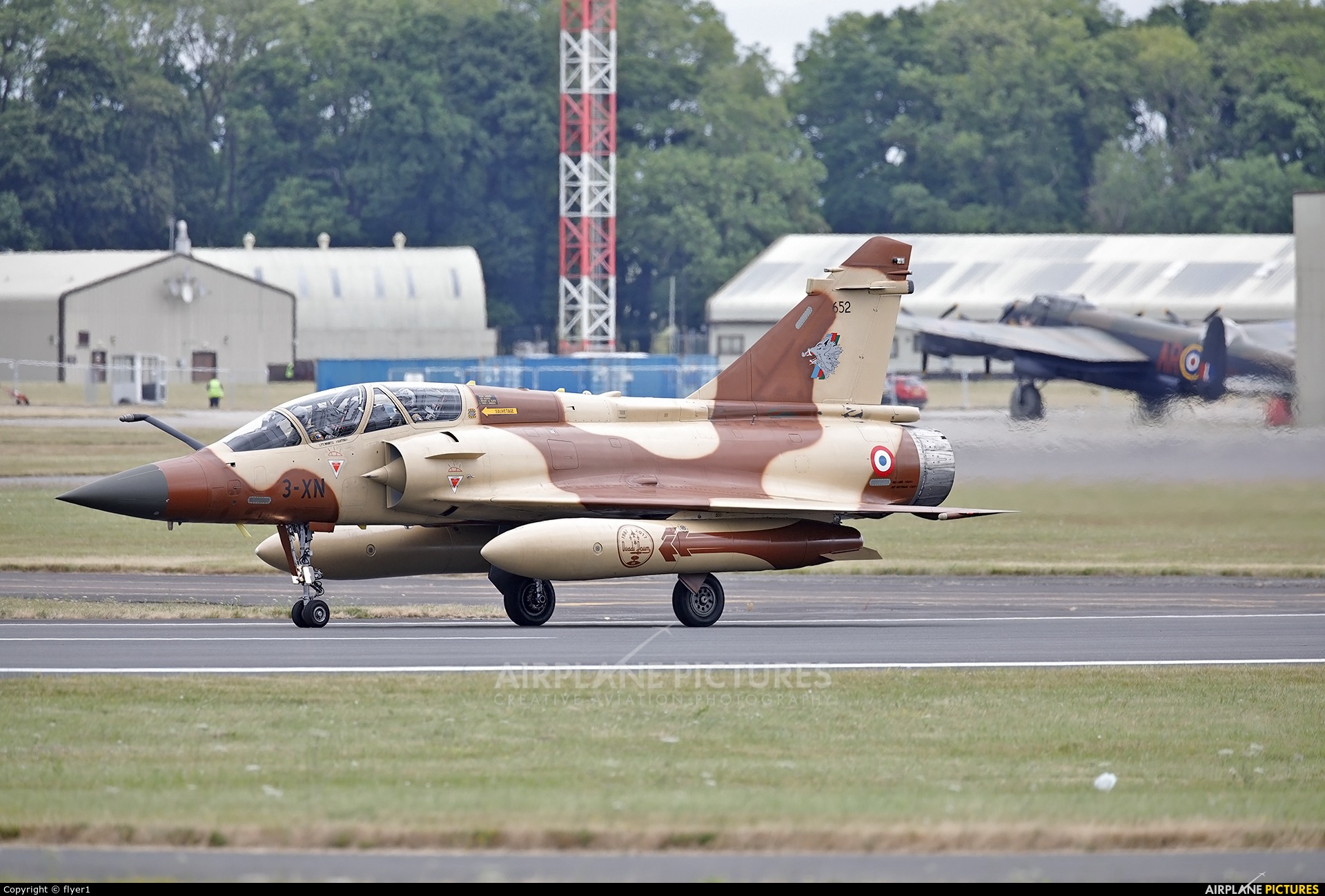 France - Air Force 652 aircraft at Fairford