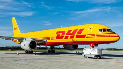 G-BIKX - DHL Cargo Boeing 757-200F