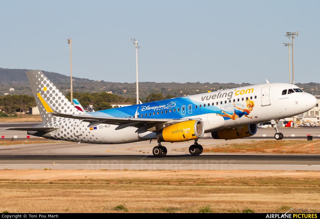 Vueling Airlines EC-MLE aircraft at Palma de Mallorca