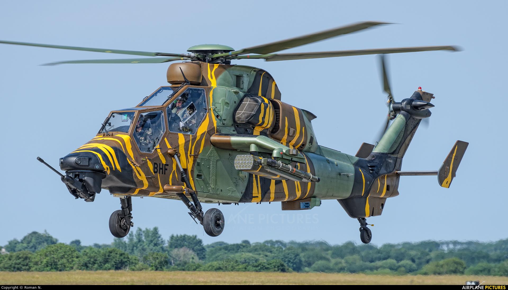 France - Army 2018/BHF aircraft at Landivisiau
