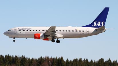 LN-RCX - SAS - Scandinavian Airlines Boeing 737-800