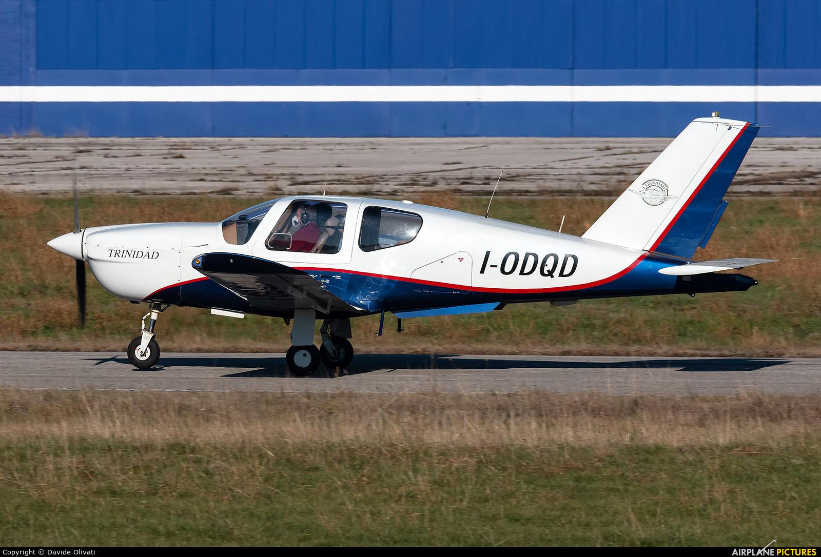 Private I-ODQD aircraft at Verona - Boscomantico