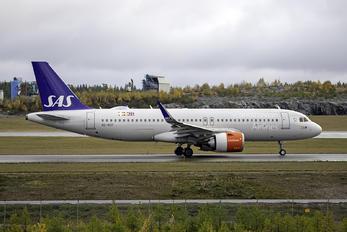 SE-ROF - SAS - Scandinavian Airlines Airbus A320