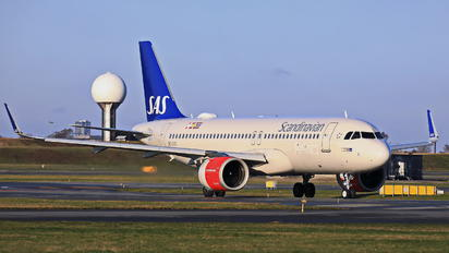 SE-DYC - SAS - Scandinavian Airlines Airbus A320 NEO