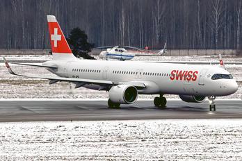 HB-JPB - Swiss Airbus A321 NEO