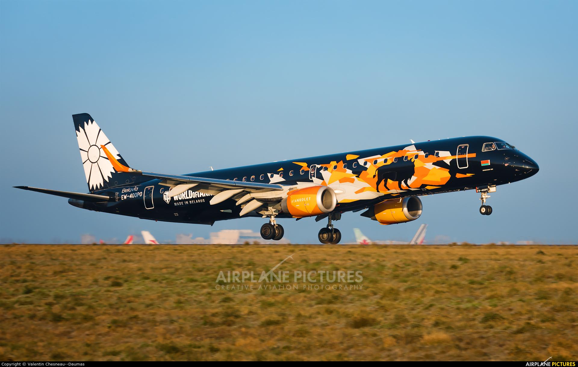 Belavia EW-400PO aircraft at Paris - Charles de Gaulle