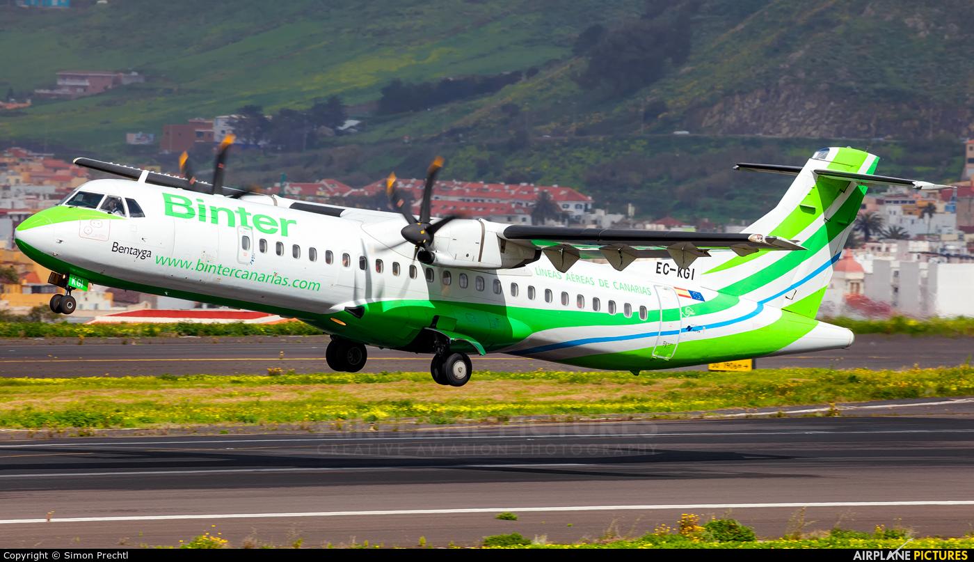Binter Canarias EC-KGI aircraft at Tenerife Norte - Los Rodeos