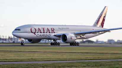 A7-BFX - Qatar Airways Cargo Boeing 777F