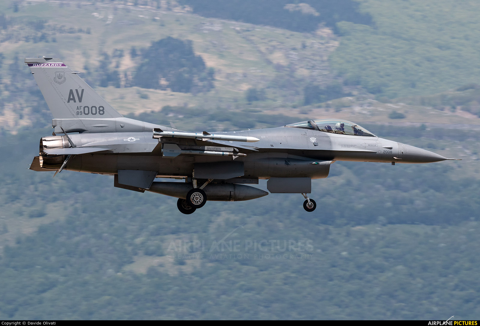 USA - Air Force 89-2008 aircraft at Aviano