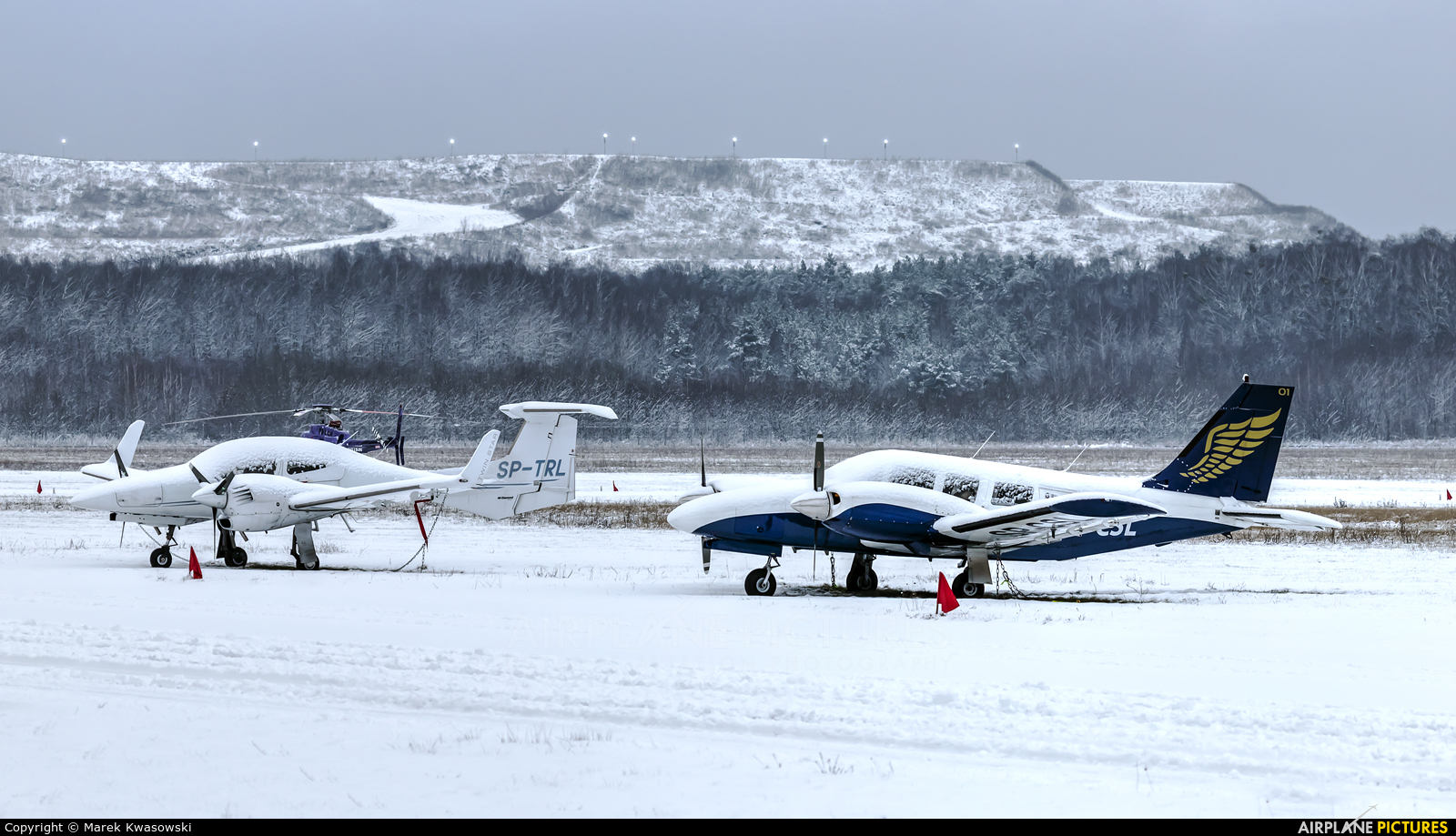 Goldwings Flight Academy SP-CSL aircraft at Warsaw - Babice