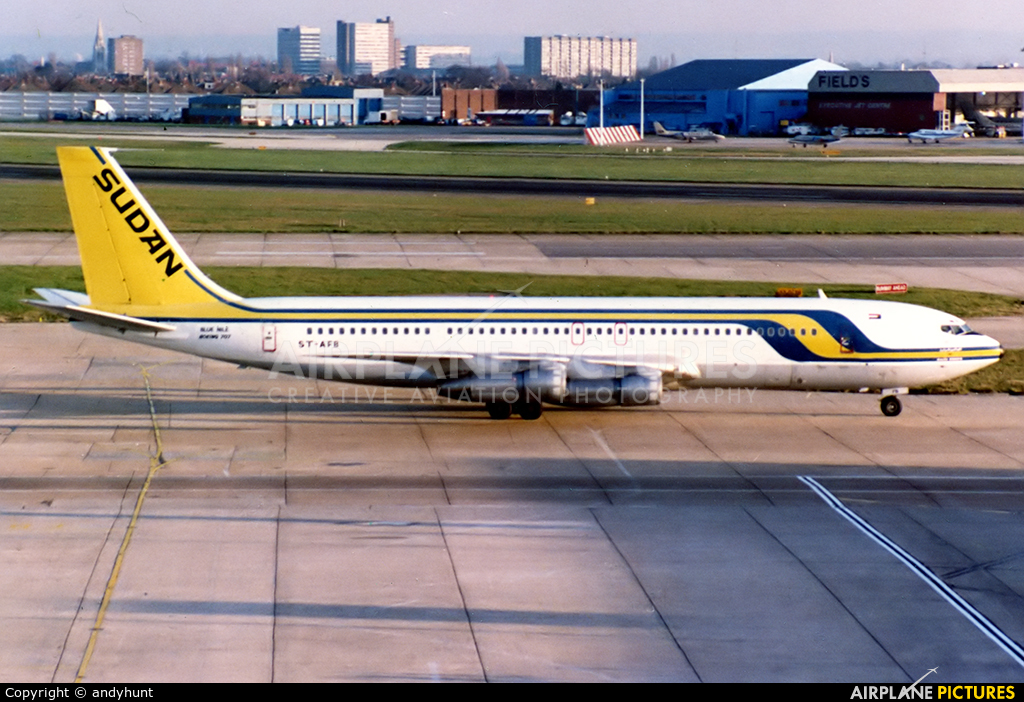 Sudan Airways ST-AFB aircraft at London - Heathrow