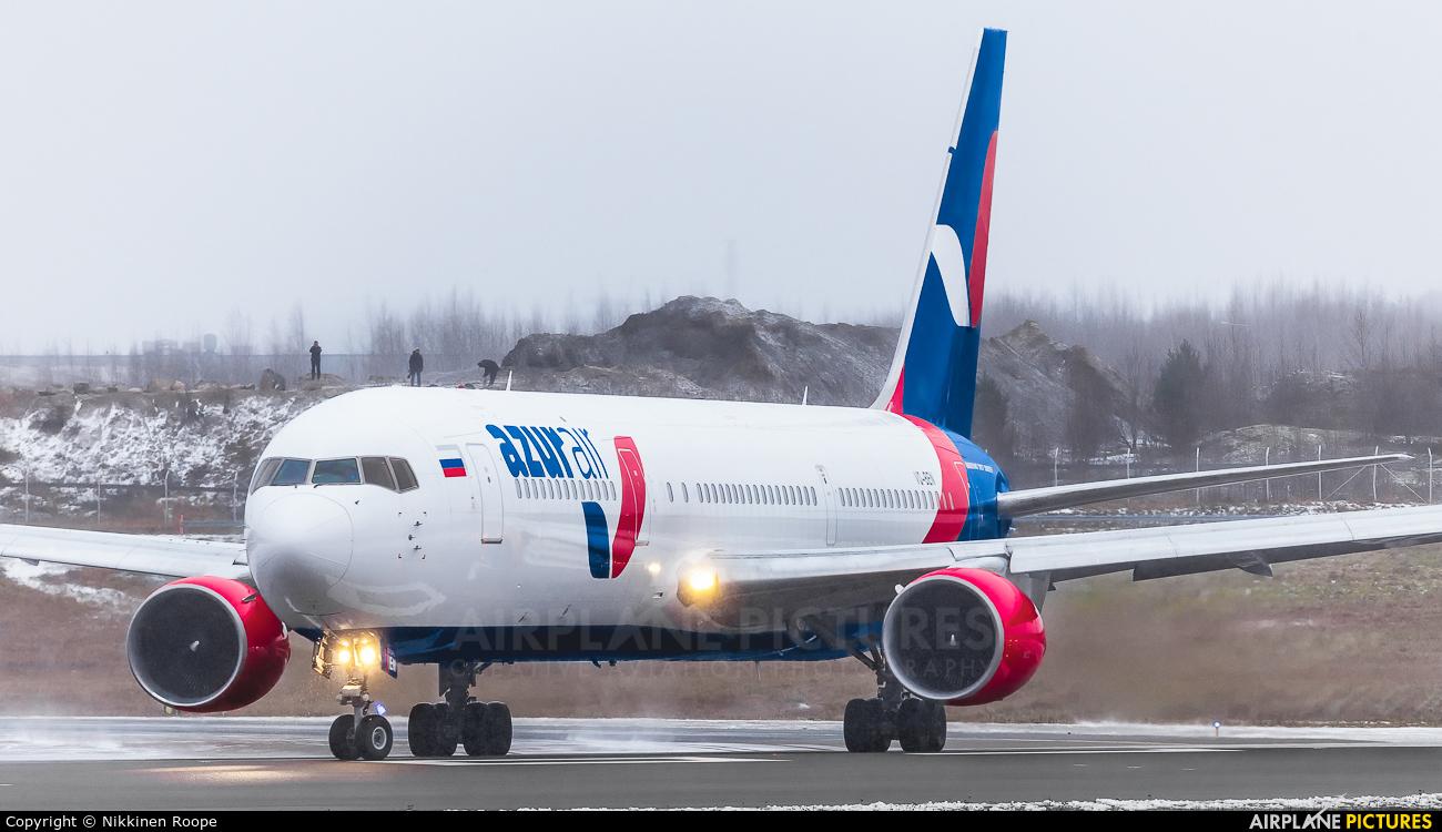 AzurAir VQ-BEN aircraft at Helsinki - Vantaa