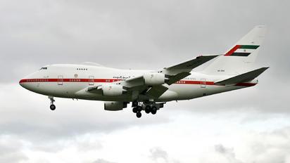 A6-ZSN - Abu Dhabi Amiri Flight Boeing 747SP