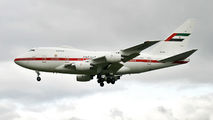 A6-ZSN - Abu Dhabi Amiri Flight Boeing 747SP aircraft