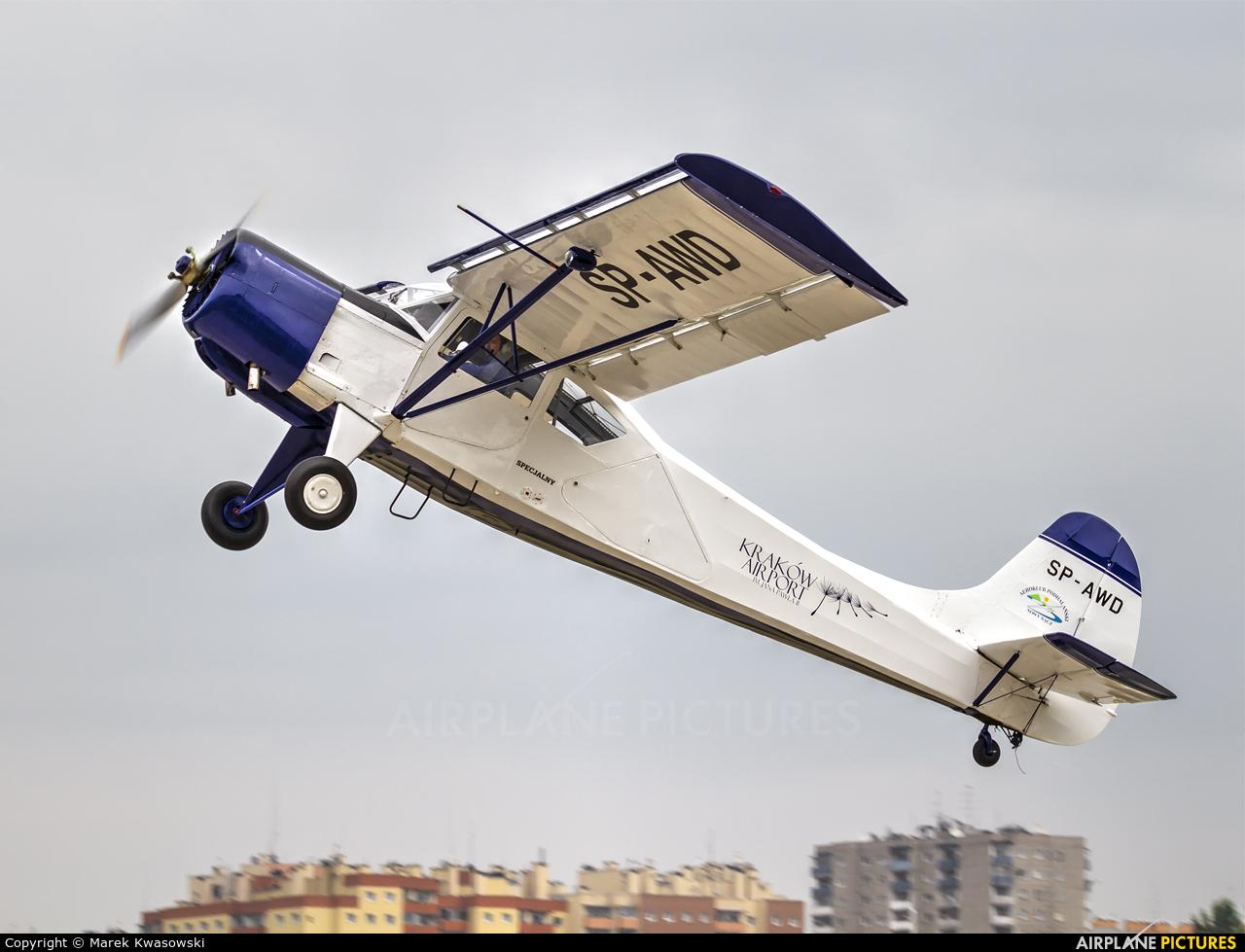 Aeroclub of Poland SP-AWD aircraft at Kraków, Rakowice Czyżyny - Museum of Polish Aviation