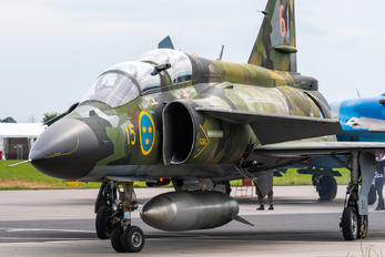 SE-DXO - Swedish Air Force Historic Flight SAAB AJS 37 Viggen