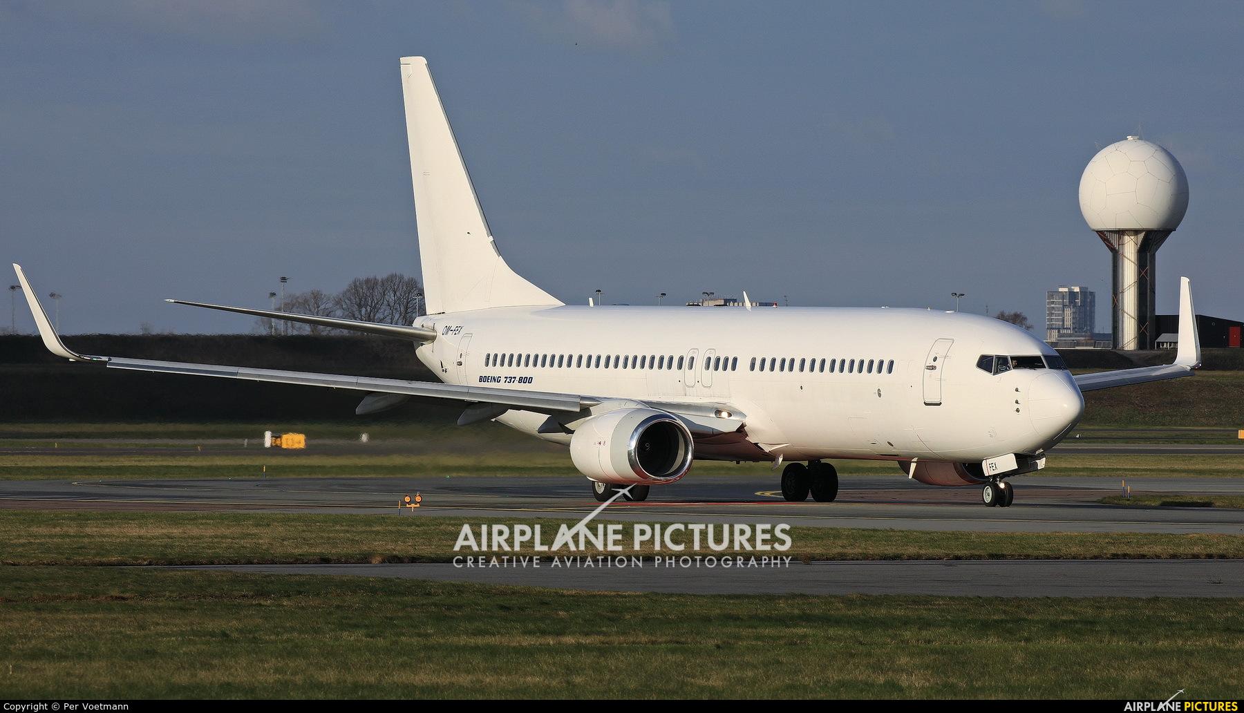 Air Explore OM-FEX aircraft at Copenhagen Kastrup