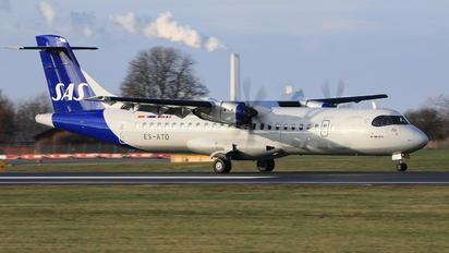 ES-ATD - SAS - Scandinavian Airlines ATR 72 (all models)