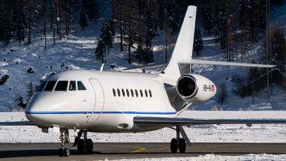 HB-IBJ - Private Dassault Falcon 2000LX