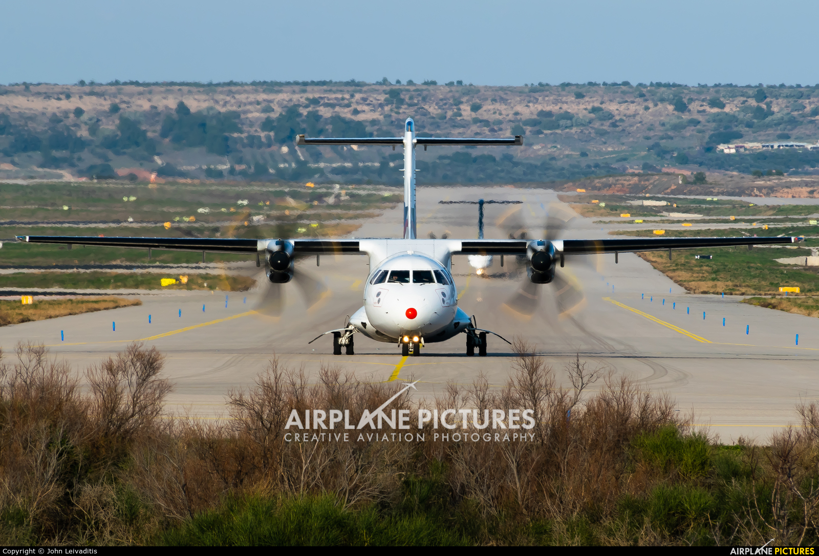 Sky Express SX-EIT aircraft at Athens - Eleftherios Venizelos