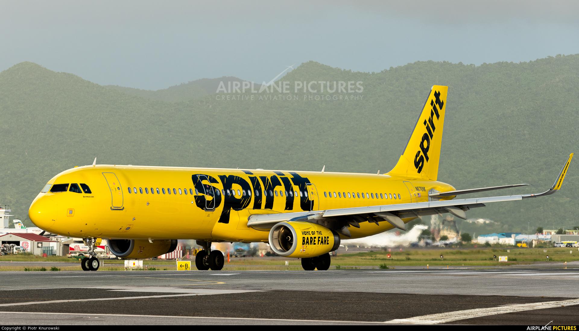 Spirit Airlines N676NK aircraft at Sint Maarten - Princess Juliana Intl