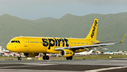 N676NK - Spirit Airlines Airbus A321