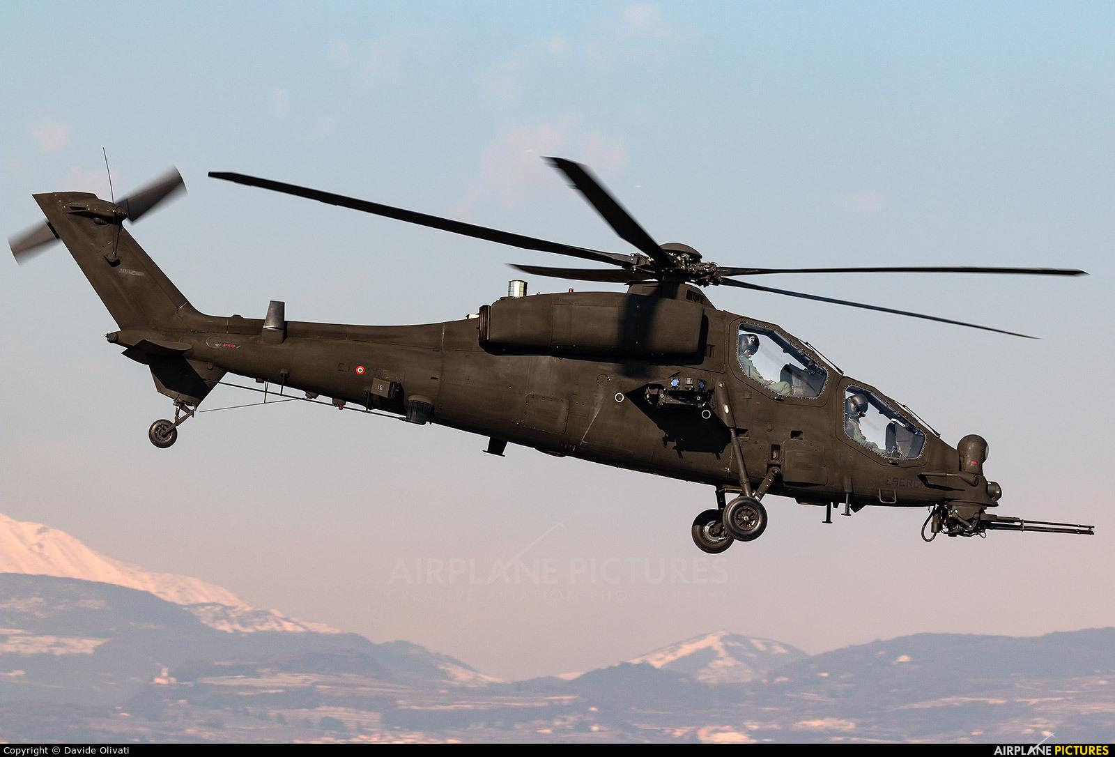 Italy - Army MM81425 aircraft at Verona - Boscomantico