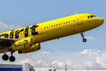 N675NK - Spirit Airlines Airbus A321