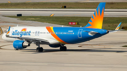 N246NV - Allegiant Air Airbus A320