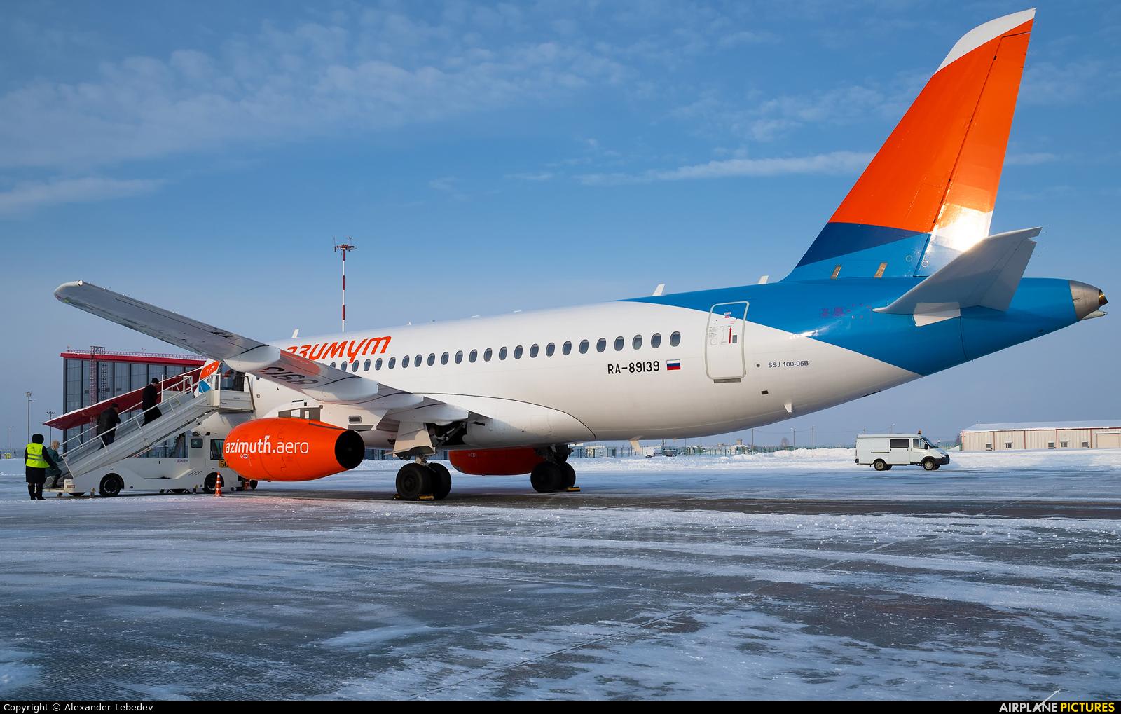 Azimuth RA-89139 aircraft at Saransk