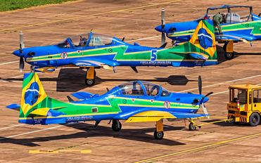 """5966 - Brazil - Air Force """"Esquadrilha da Fumaça"""" Embraer EMB-314 Super Tucano A-29B"""